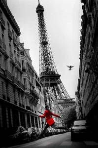poster-paris-red-coat